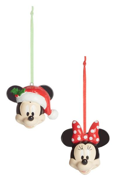 Mickey And Minnie Mouse Baubles