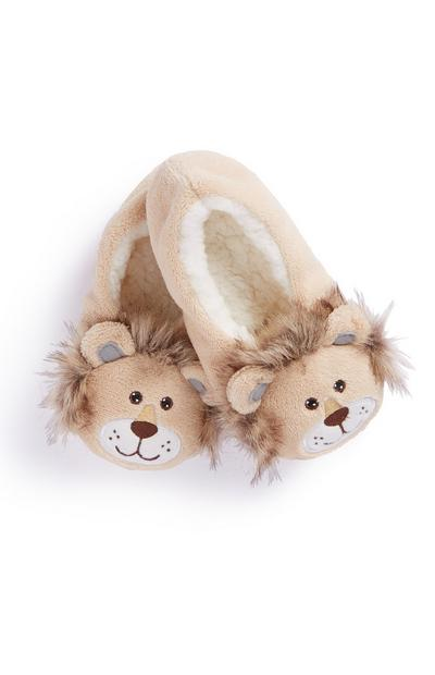 Lion Slipper Socks
