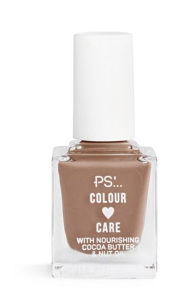 Mushroom Colour And Care Nail Polish