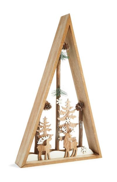 Christmas Wooden Room Decoration