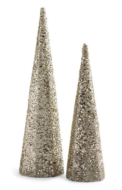 Sequin Tree 2Pk