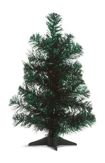 Green 1FT Tinsel Tree