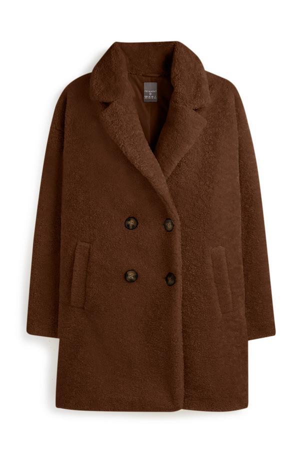 Chocolate Teddy Coat