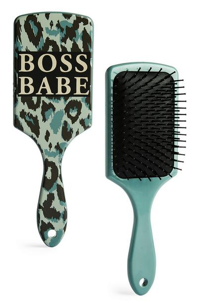 Camo Boss Babe Hair Brush