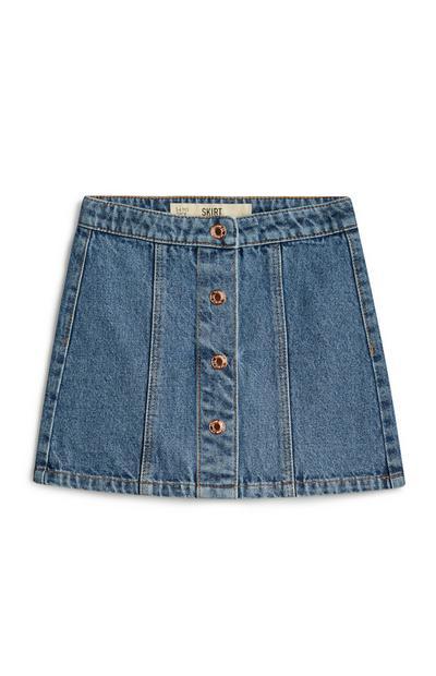 Younger Girl Denim Skirt