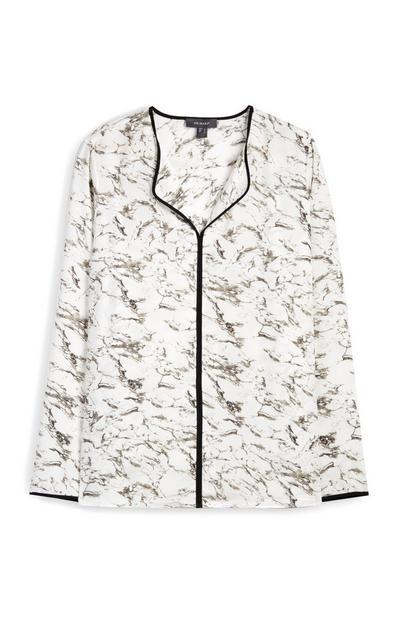 Marble Print Shirt
