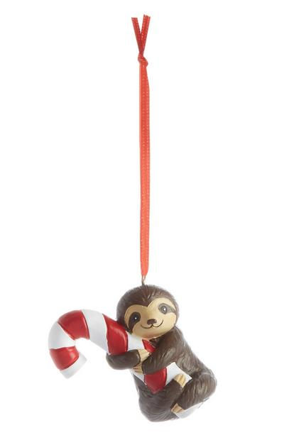 Sloth Christmas Decoration