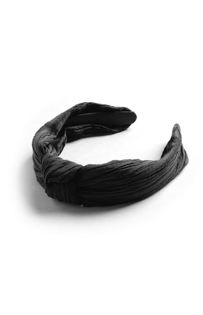Black Frontknot Headband