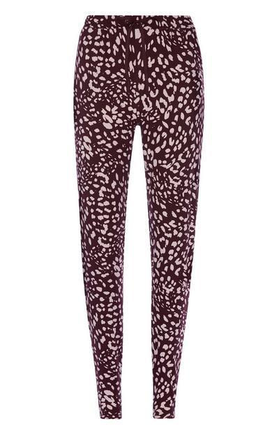 Leopard Pyjama Trouser