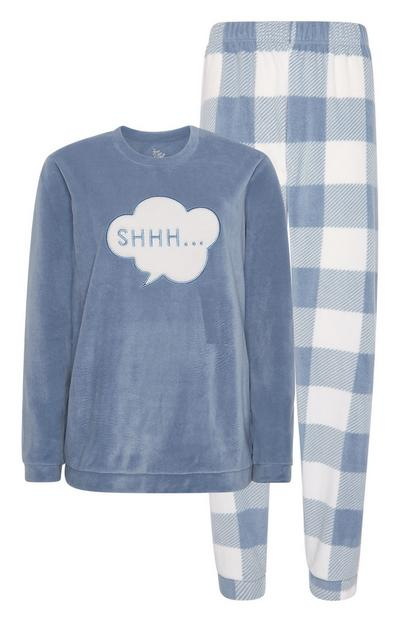 Kariertes Pyjamaset