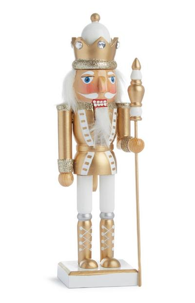 Medium Gold Nutcracker Decoration