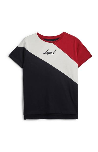 Younger Boy Colour Block T-Shirt