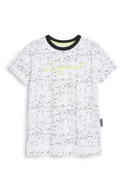 Younger Boy Paint Splash T-Shirt