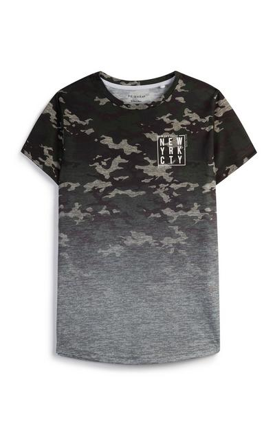 Older Boy Ombre Camo T-Shirt