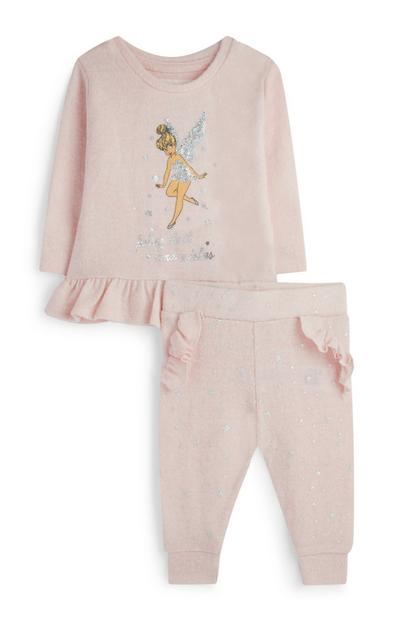 Baby Girl Tinkerbell Outfit 2Pc