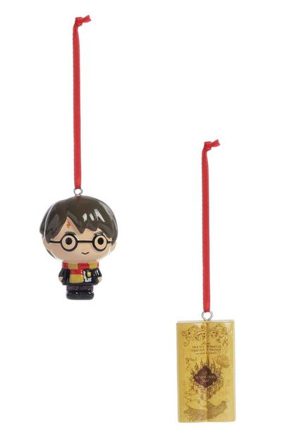 Harry Potter Christmas Decoration 2Pk