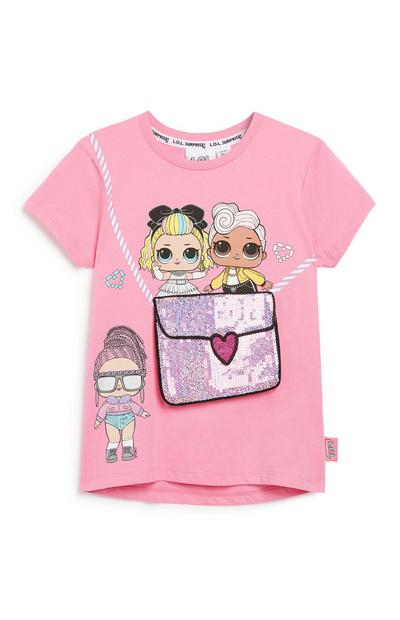 Younger Girl Lol Dolls T-Shirt Bag