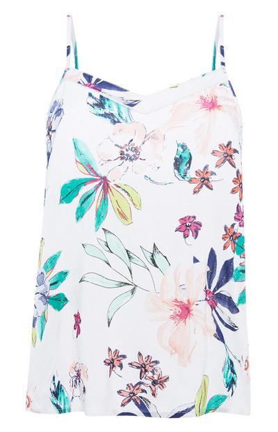 Floral Pyjama Cami Top