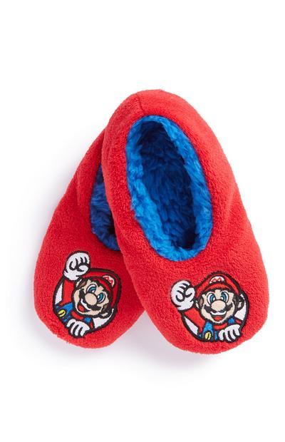 Mario Slipper Socks
