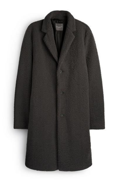 Charcoal Teddy Coat