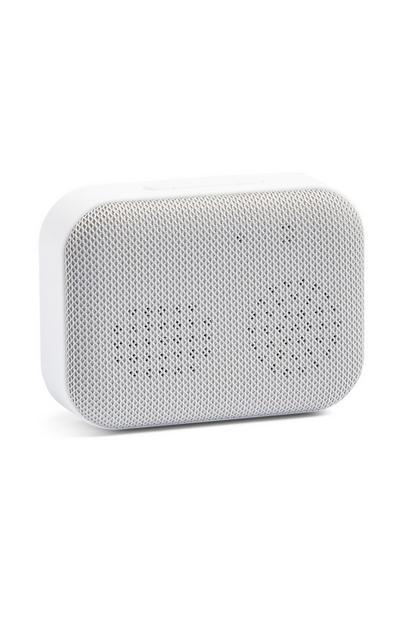 White Bluetoth Wireless Speaker