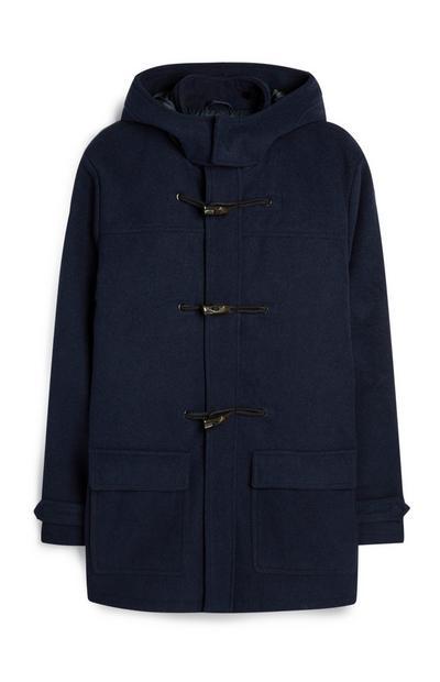 Navy Duffle Coat