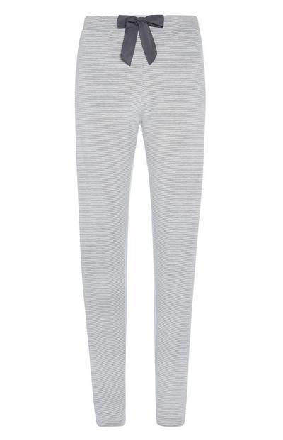Striped Loungewear Trousers