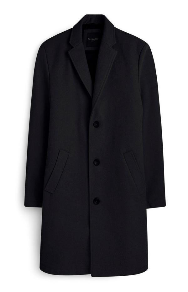 Navy Wool Coat