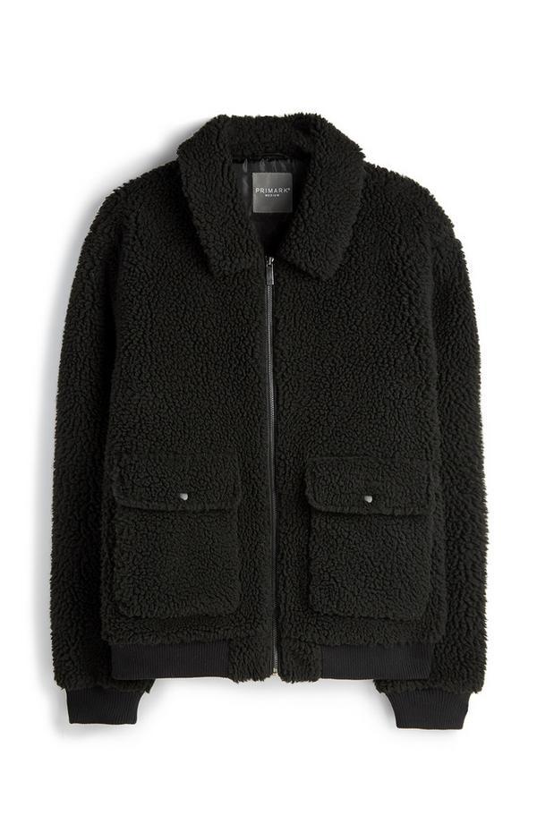 Black Teddy Jacket