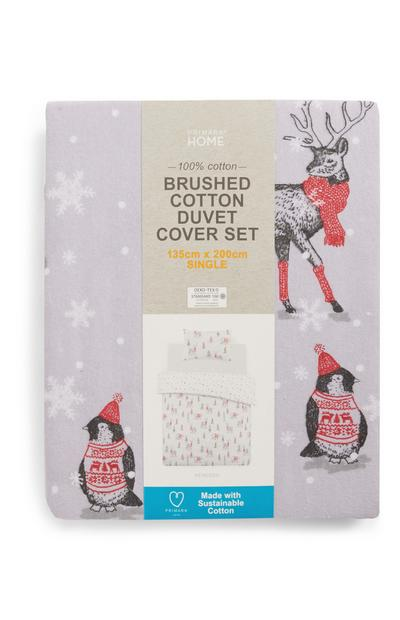 Reindeer Single Duvet Set