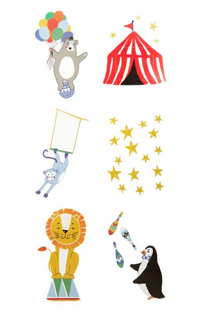 Circus Decals