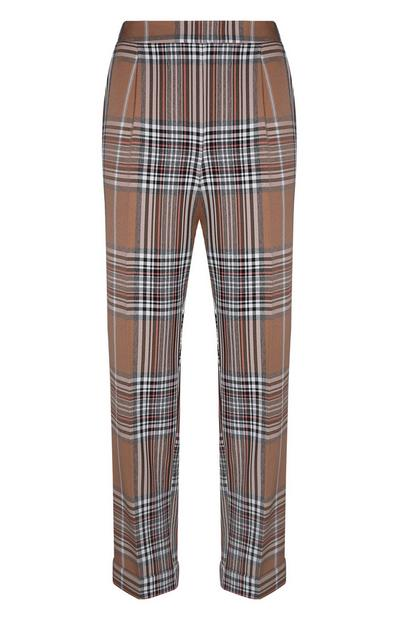 Camel Check Trouser