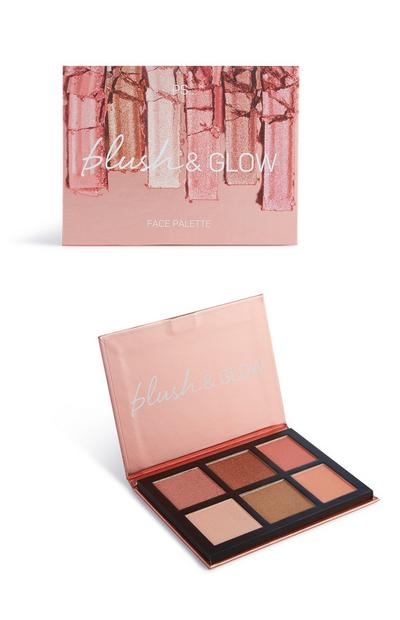 Blush And Glow Face Palette