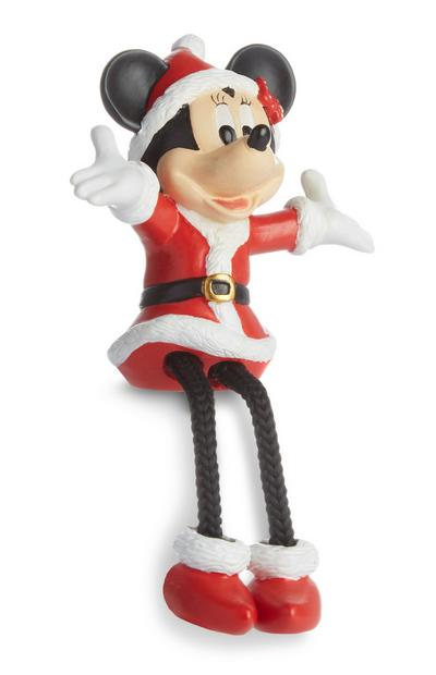 Minnie Mouse Mrs Claus Christmas Ornament