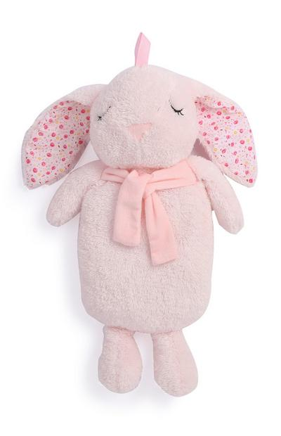 Pink Bunny Hot Water Bottle