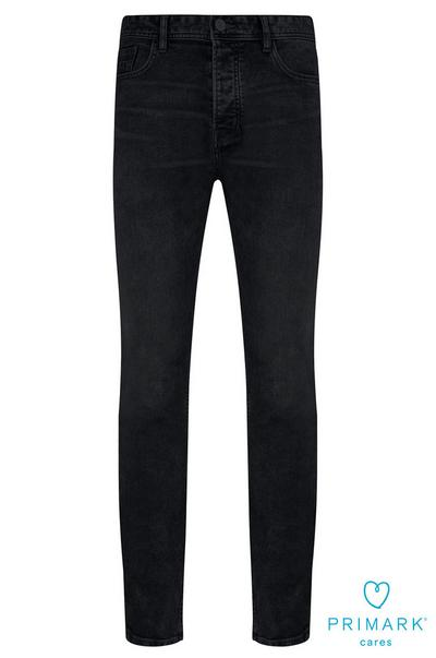 Dark Wash Straight Leg Sustainable Cotton Jeans