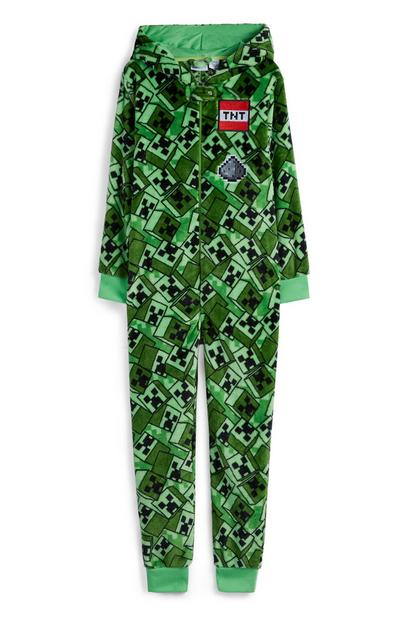 Older Boy Green Tint Onesie