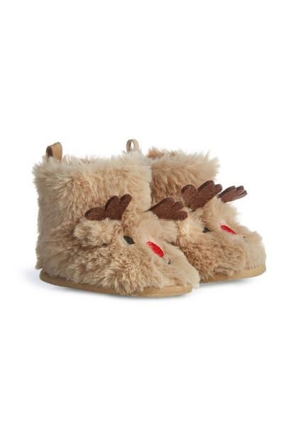 Brown Reindeer Boots