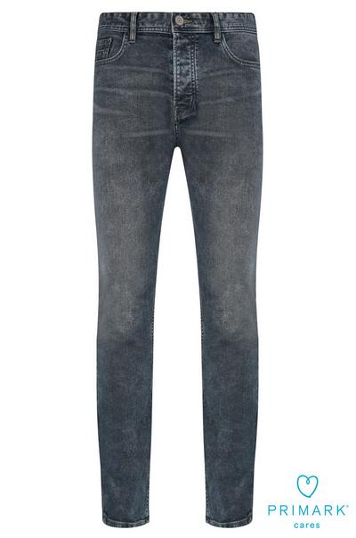 Grey Sustainable Cotton Jeans