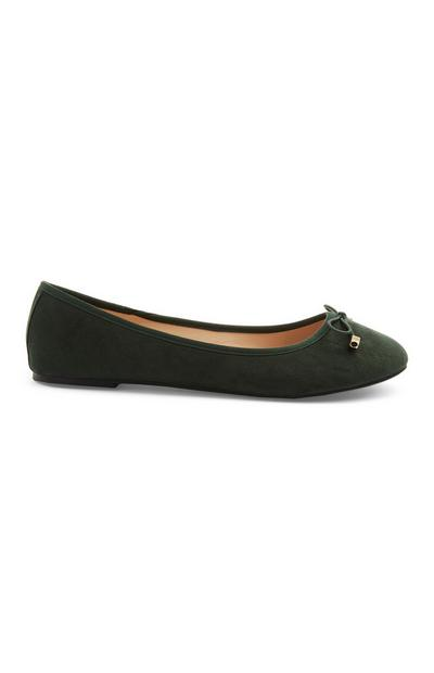 Green Ballerina Pump