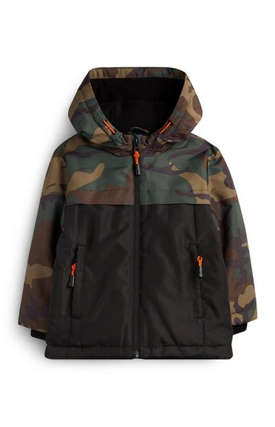 Younger Boy Camo Jacket