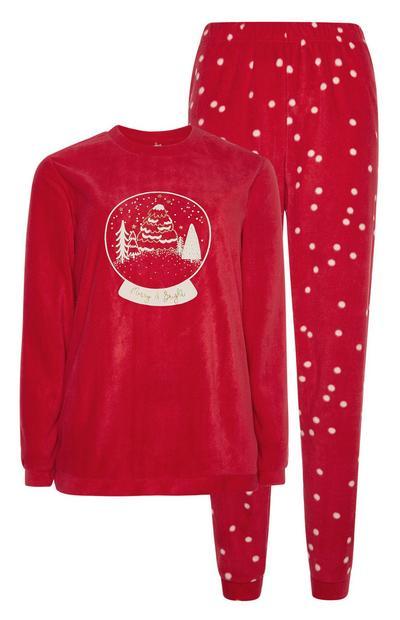 Snow Globe Pyjama Set
