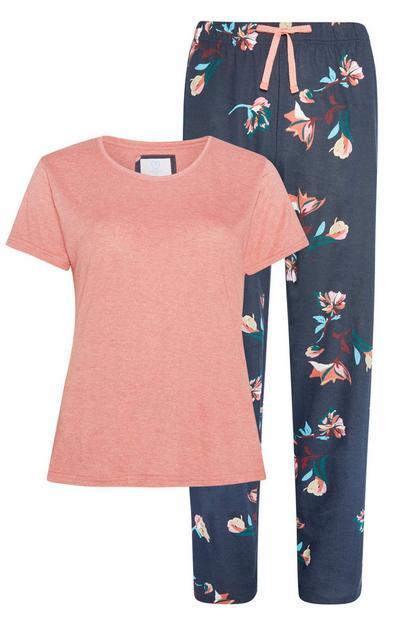 Sustainable Floral Print Pyjamas 2Pc