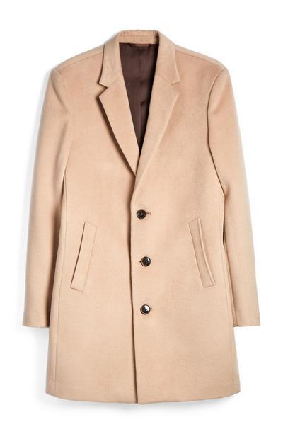 Light Grey Single Breasted Coat
