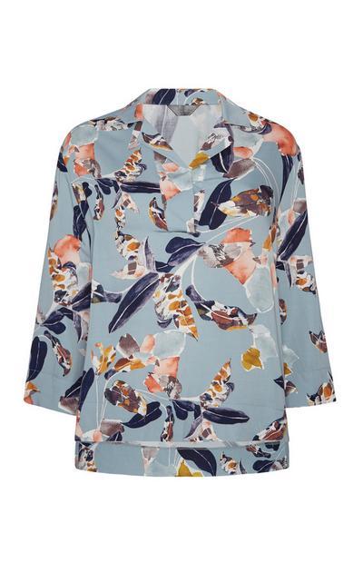 Floral Print Night Shirt