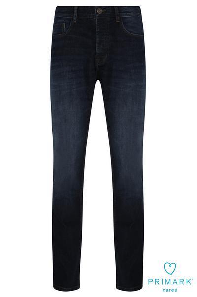 Dark Wash Slim Sustainable Cotton Jeans