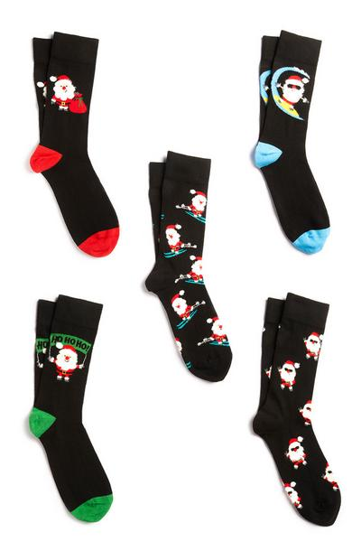 Christmas Socks 5Pk
