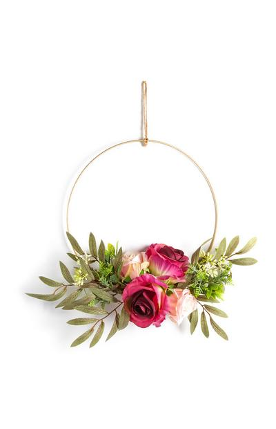 Hanging Faux Flower Decor
