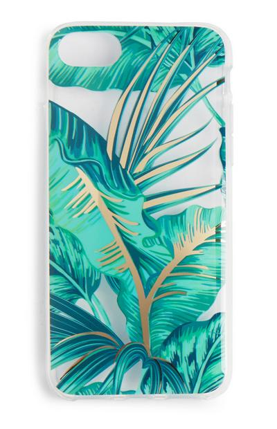 Palm Leaf Print Phone Case