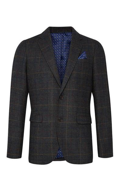 Green Heritage Check Blazer